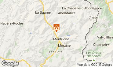 Map Morzine Chalet 1943