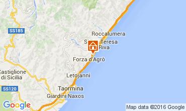Map Taormina Apartment 44144