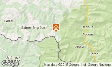 Map Arette La Pierre Saint Martin Apartment 3945