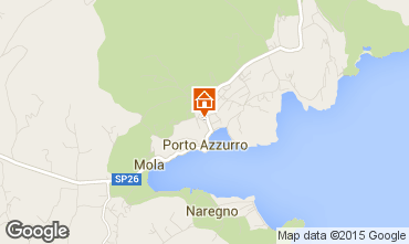 Map Porto Azzurro Apartment 81776
