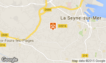 Map La Seyne sur Mer House 78524