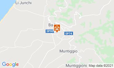 Map Badesi Apartment 113052