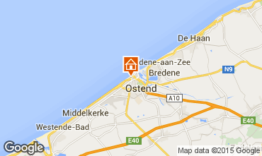 Map Ostend Apartment 97671