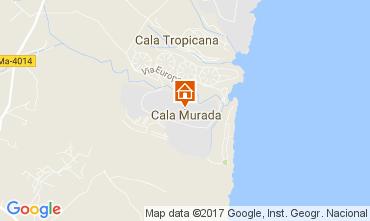 Map Cala Murada House 111782