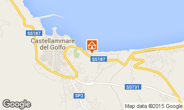 Map Castellammare del Golfo Apartment 86961