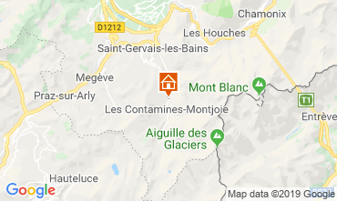 Map Les Contamines Montjoie Chalet 923