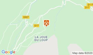 Map La joue du Loup Chalet 117440