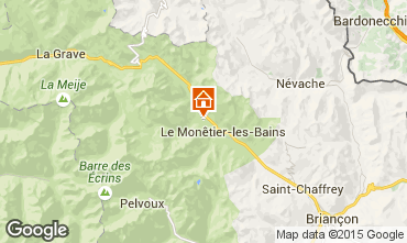 Map Serre Chevalier Chalet 2932