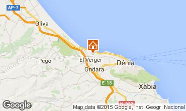 Map Denia Chalet 76341