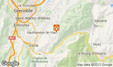 Map Chamrousse Chalet 39409