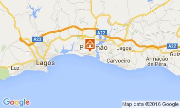 Map Praia da Rocha Apartment 88924