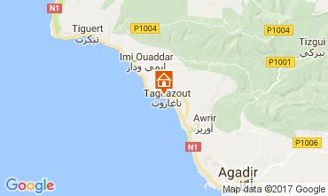 Map Agadir Apartment 17091