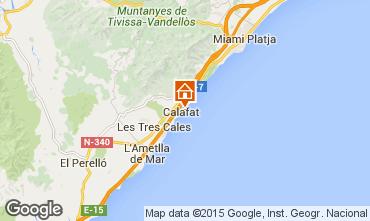 Map La Ametlla de Mar Villa 82763