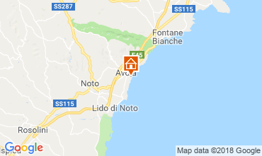 Map Avola Apartment 116412