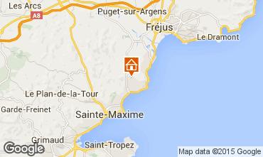 Map Les Issambres Villa 92759