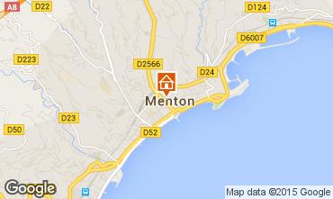 Map Menton One-room apartment 59821