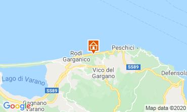 Map Rodi Garganico Villa 87267