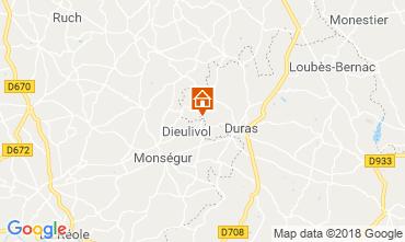 Map Duras House 116580