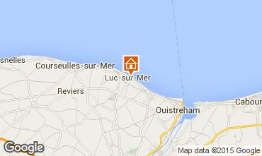 Map Luc sur Mer Apartment 92826