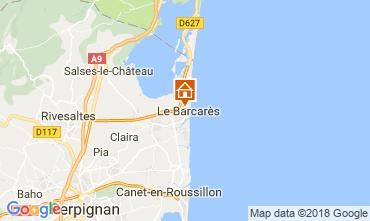 Map Le Barcares Villa 114875