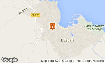 Map L'escala Apartment 70957