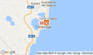 Map Torrevieja Apartment 91265