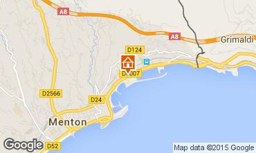 Map Menton One-room apartment 74211