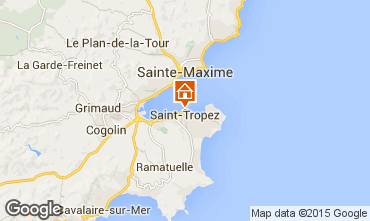 Map Saint Tropez House 5673