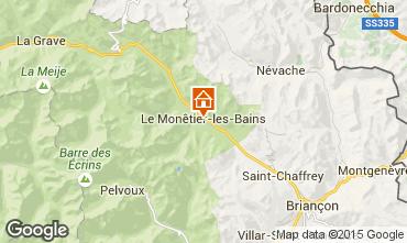 Map Serre Chevalier Apartment 14750