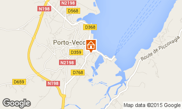 Map Porto Vecchio Apartment 82380