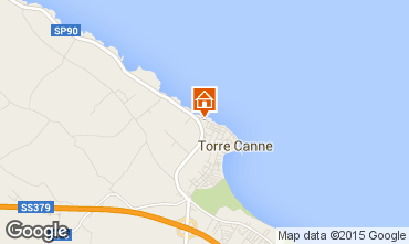 Map Torre Canne Apartment 84301