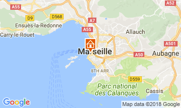 Map Marseille Apartment 115437