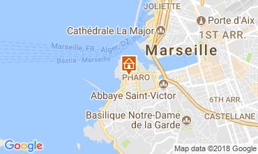 Map Marseille Apartment 115437