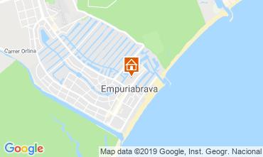 Map Empuriabrava Apartment 118477