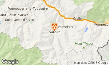 Map Valloire Apartment 83091