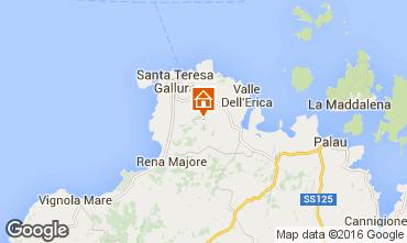 Map Santa Teresa di Gallura Apartment 74767