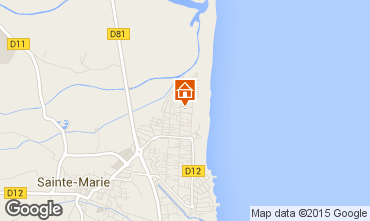 Map Canet Apartment 8659