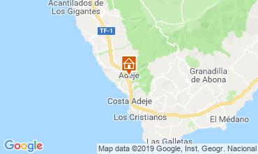 Map Los Cristianos Apartment 119501