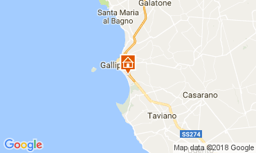 Map Gallipoli Apartment 108516