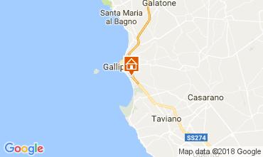 Map Gallipoli Apartment 108516