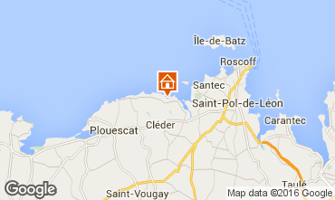 Map Roscoff Villa 82006