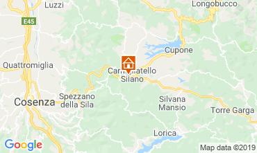 Map Camigliatello silano Chalet 51597