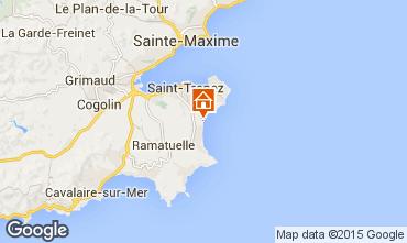 Map Saint Tropez Mobile home 80923