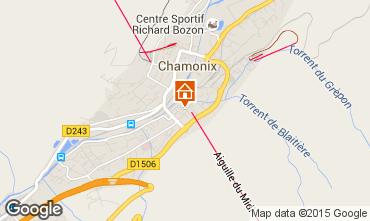Map Chamonix Mont-Blanc One-room apartment 67211