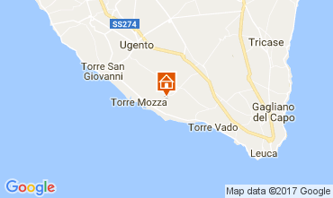 Map Lido Marini Villa 85337