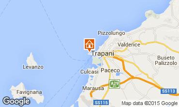Map Trapani Apartment 93394
