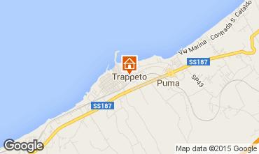 Map Trappeto Villa 81909
