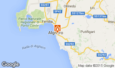 Map Alghero Apartment 69224