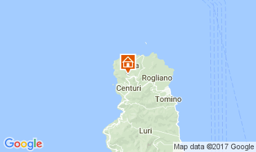 Map Centuri Vacation rental 108083