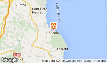 Map L'escala Apartment 17333